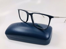 New LACOSTE L2827 424 Blue Eyeglasses 52mm with Case - $58.36