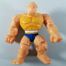 """The Thing Action Figure Fantastic Four Marvel 5"""" Tall 1995 - $8.50"""