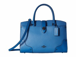 New Coach Women Mixed Leather Mercer 30 Satchel Bag Variety Colors - €272,12 EUR