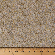 Cotton Flowers Floral Bed of Roses Garden Spring Fabric Print BTY D380.29 - $12.49