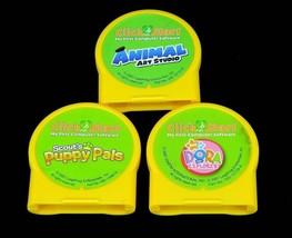 Click Start My First Computer Software Game Cartridge Lot Dora, Puppy Pa... - $12.95