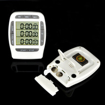 Digital LCD Multi-Channel CountDown Laboratory Timers - $25.95