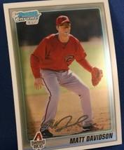 2010 Bowman Chrome Prospects Diamondbacks Baseball Card #BCP210 Matt Davidson - $1.95