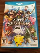 Super Smash Bros. (Nintendo Wii U, 2014) Complete - $10.39