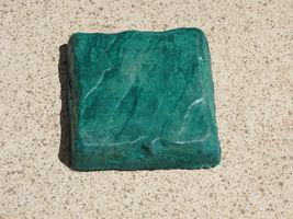 Concrete Paver Molds 12 8x8x1.5 Make Garden Cobblestone Walls Walks Patio Pavers image 4