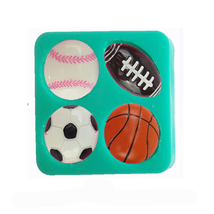 Balls Shaped Silicone Mold Cake Decoration Fond... - $7.69
