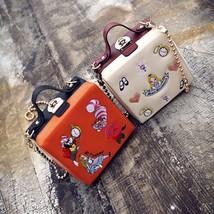 Luxury Mini Flap Women Handbag Box Bag High Quality Lock Retro Fashion V... - $34.99