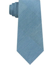 Kenneth Cole Mens Updated Glen Self-tied Necktie (Green, One Size) - $19.73
