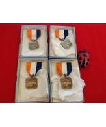 Vtg Metropolitan Miami AAS'N 1960 Swimming Medals Lot of 4 - $35.00