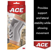 ACE Knitted Knee Brace with Side Stabilizers, Large, America's Most Trus... - $11.27