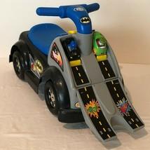 Fisher Price Little People Batman Wheelies Raceway Ride On and Batman Joker Cars - $34.99