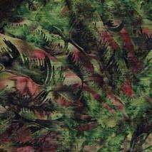 Bali ChopTropical Leaves-Jungle-Hoffman Fabrics... - $9.95