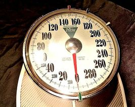 Health O Meter Precise Scale AA18-1336 Vintage image 4