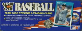 1987 Fleer Glossy Complete Set in Original Tin Container not sealed - $20.00