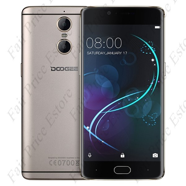 "Primary image for DOOGEE SHOOT 1 MTK6737T Quad-core 5.5"" SHARP FHD Android 6.0 4G Phone (Gold)"