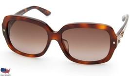 NEW Christian Dior BrillianceF 05LV6 HAVANA /BROWN GRADIENT LENS Sunglas... - $197.99