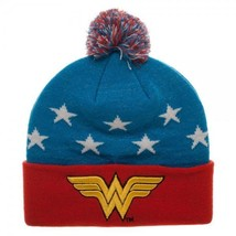 Wonder Woman 3D Embroidery Beanie - $25.69