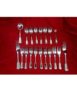 Sheffield Stainless Fiddle Shell Pattern Includes 18pcs (See Description... - $29.00