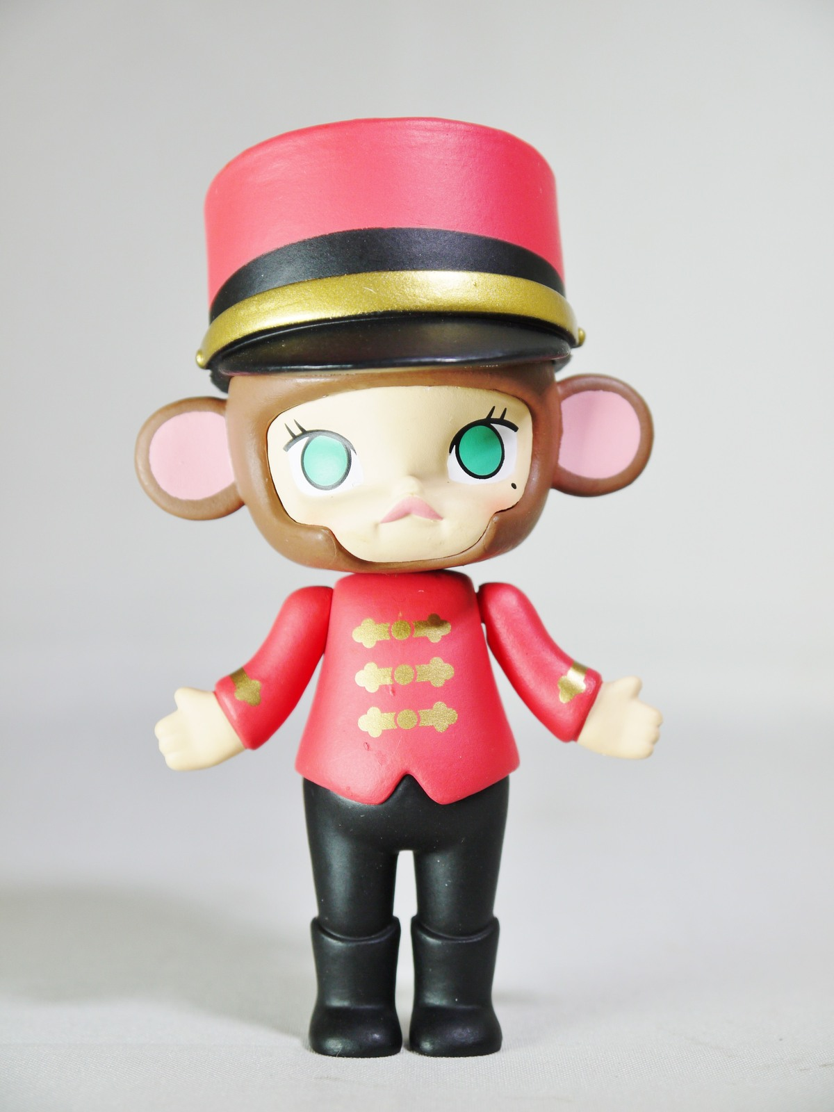 POP MART Kennyswork BLOCK Little Molly Chinese Zodiac Monkey Porter Mini Figure