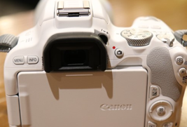 Canon EOS 200D Rebel SL2 24.2 MP DSLR Camera White Body only Express shipping image 2
