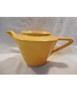 Vintage Homer Laughlin Harlequin Yellow Teapot No Lid - $17.95