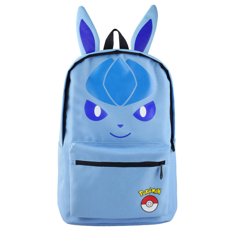 aa0270d6813c Pokemon Game Theme Backpack Schoolbag and 14 similar items. Pokemon  backpack schoolbag daypack blue ice eevee