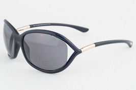 Tom Ford Jennifer Black & Gold / Gray Polarized Sunglasses TF008 01D - $185.22