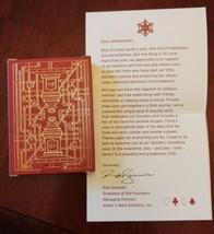 Makers Mark Bourbon Christmas 2020 Promo Playing Cards New Ambassador Gift - $11.39