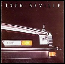 1986 Cadillac Seville Prestige Brochure - $5.03