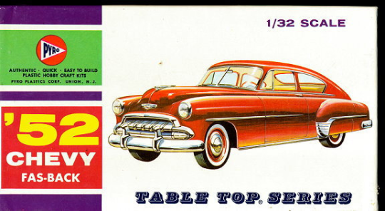 Primary image for 1952 Pyro 52 Chevy Fas-Back Model Kit