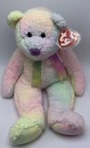 Ty  Beanie Buddy Groovy The Ty Dye Bear 1999 - $12.99