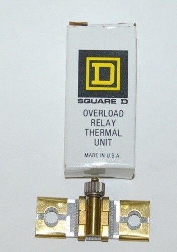 Square D Overload Relay Thermal Unit Type B14 USA Made