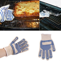 Heat Proof Resistant Cooking Kitchen Oven Mitt Glove For 540F / 282C Hot... - $9.96
