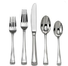 Column by Gorham Stainless Steel Flatware Set for 12 Service 65 piece Br... - $399.00