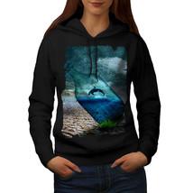 Orca Bottle Nature Sweatshirt Hoody Water Fish Women Hoodie - $21.99+