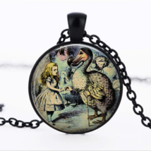 Little Girl & Costume Bird Cabochon Necklace >> Combin Shipping - $3.71