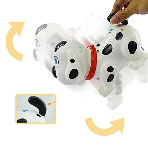 Electronic Pet Dog Interactive Puppy - Robot Harry Responds to Touch, Walking, C