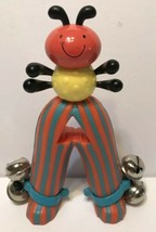 Parents Bell Bug Bright Starts Rattle Bells Colorful  - $9.63