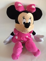 "Minnie Mouse 20"" JUMBO Plush Pink Polka Dot Dress by Just Play - FAST SH... - $13.06"