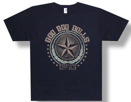 Goo Goo Dolls-Star-Something For The Rest Of Us 2011 Tour-Black  T-shirt - $18.99