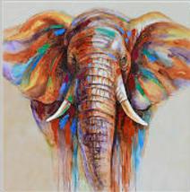 ELEPHANT (C) CROSS STITCH KIT - $35.00