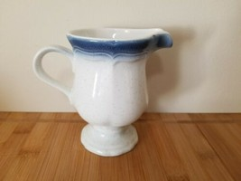 Mikasa Country Club Blue/White Creamer CA500 - $7.60
