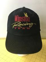 Vintage Winston Racing Team Black Hat Cap Caps Hats Snapbacks Tobacco  - $16.61