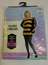 Bumblebee Adult Halloween Costume Rubies Costume Co Up To Size 12 No Wings GUC - $17.76