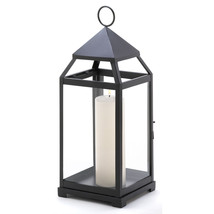 Large Contemporary Candle Lantern - £31.57 GBP
