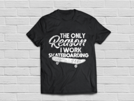 Skateboarding shirt - Skateboard gifts - skate apparel - $18.95