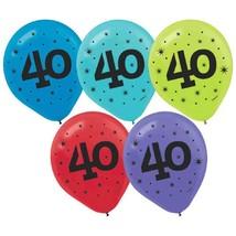 """40"" Printed Latex Balloons (15 Pack) 12"" - $7.59"