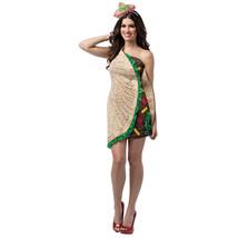 Womens Sexy Taco Dress Costume sz 4-10 - $30.68