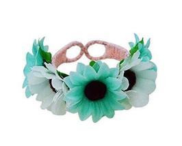 1 Pair Of Elegant Daisy Beach Bracelets Lace Bracelets Jewelry