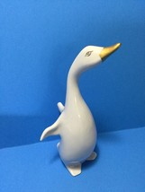 Rare Vintage Large Porcelain Goose Wild Bird Porcelain Spring Easter Fig... - $24.95